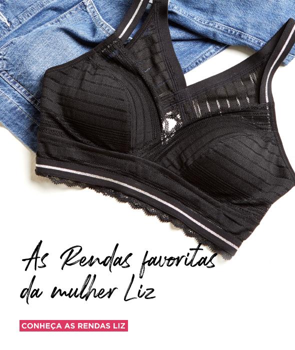 90032ba64 Liz Lingerie - Encontre sutiãs com fit perfeito para você