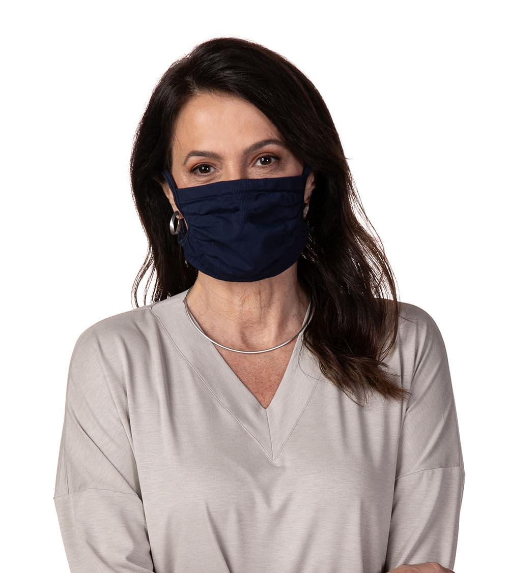 Máscara Anti-Viral Sem Costura